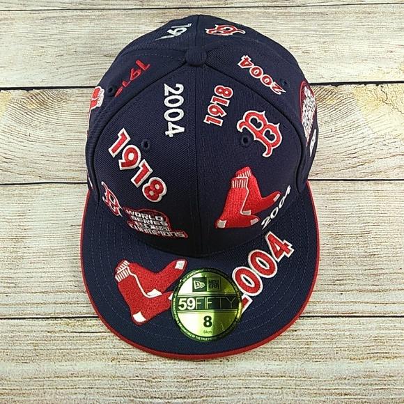 0d7295a25713b New Era Boston Red Sox World Series Champion Cap